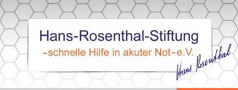 Hans Rosenthal Stiftung Logo